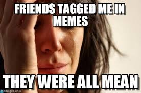Friends Tagged Me In Memes - First World Problems meme on Memegen via Relatably.com