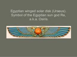 Image result for winged sun god
