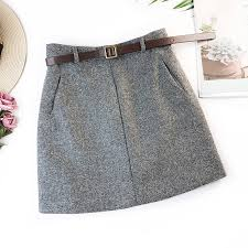 <b>2019 Spring New</b> Arrival Vintage Temperament High Waist A line ...