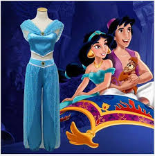 Kids <b>Carnival Clothing</b> Girls Aladdin Jasmine Princess <b>Costume</b> ...