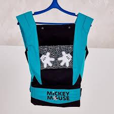 <b>Рюкзак</b>-<b>кенгуру Polini Kids Disney</b> baby Микки Маус с вышивкой ...