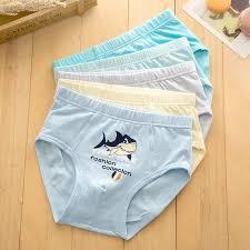 <b>5pcs</b>/<b>lot</b>-<b>High Quality</b> Kids Cotton Brief boxer baby shark Underwear ...