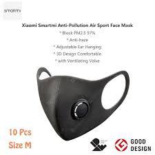 <b>Smartmi KN95 Face Cover</b> Mask PM2.5 Haze with Ventilating Valve ...