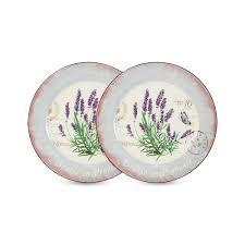 <b>Набор</b> из 2-х <b>обеденных тарелок</b> Лаванда <b>Anna</b> Lafarg AL ...