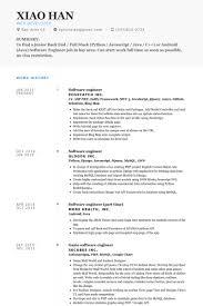 example game developer resume game programmer resume