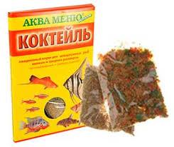 Купить <b>Корм</b> Для Рыб <b>Аква Меню Коктейль</b> Хлопья 15г в ...