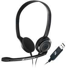 <b>Sennheiser PC 7</b> USB Headset fro Speech Recognition Software ...