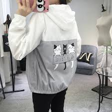 New <b>Jackets Women's</b> 2019 Hooded Windbreak Fashion <b>Thin</b> ...