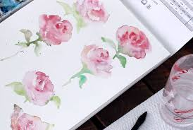 <b>Watercolor</b> May <b>Flowers</b>: <b>Rose</b> Edition Using Easy <b>Watercolor</b> ...