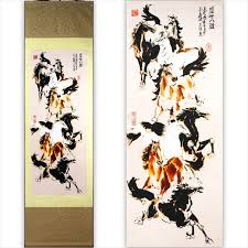 <b>TangFoo Wall Picture</b> Chinese Unique Crafts Gift Silk Painting Scroll ...