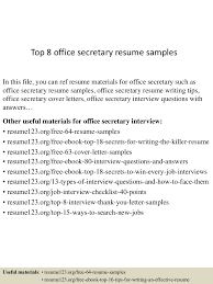 topofficesecretaryresumesamples conversion gate thumbnail jpg cb