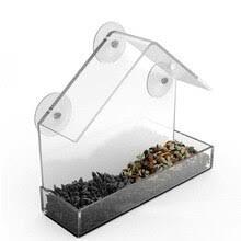 Прозрачный пластиковый <b>скворечник кормушки</b> для птиц ...