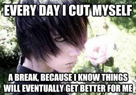 Every day I cut myself a break, because I know things will ... via Relatably.com