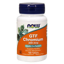 Now <b>GTF</b> Chromium ГТФ <b>Хрома</b> пиколинат <b>200 мкг</b> таблетки, 100 ...