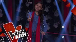 Heleng canta Por <b>Amarte</b> Así – Audiciones a Ciegas   La Voz Kids ...