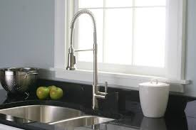 Black Pull Out Kitchen Faucet Black Kitchen Faucets Karbon Midarc Deckmount Standard Kitchen