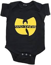 Wu Tang Clan Logo Black Infant Baby Onesie ... - Amazon.com