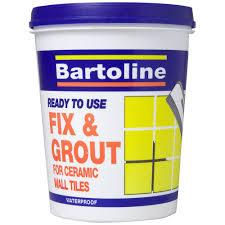 grout bathroom tile glue