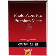 ≡ <b>Фотобумага Canon</b> A4 <b>Photo Paper</b> Premium Matte, 20л ...