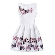 2019 Flower <b>Girls Dress</b> Summer <b>2016 Casual</b> Sleeveless Vintage ...