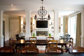 french country lighting fixtures family room traditional with breakfast area french country image by heintzman sanborn architectureinterior design breakfast area lighting