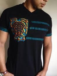Kente <b>African</b> Ankara Dashiki shirt Rasta <b>ethnic</b> kitenge tribal ...