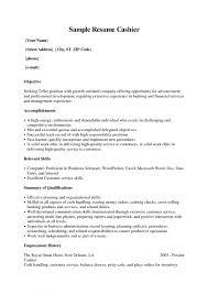 resume templates restaurant cashier job description resume sample excellent resume sample for cashier job position resume sample for cashier store resume examples for