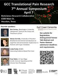 research resources news announcements for the research gcc translational pain research 7th annual symposium