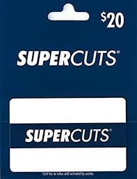 Supercuts $20 Gift Card: Gift Cards - Amazon.com