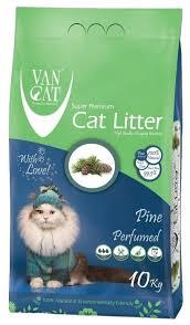 Комкующийся <b>наполнитель Van Cat Pine</b> 10 кг — купить по ...