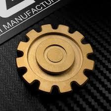 2019 Gear <b>Fingertip Gyro Titanium Alloy</b> Mechanical Wind Creative ...