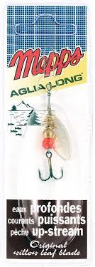 <b>Блесна MEPPS Aglia</b> Longue AG, <b>вращающаяся</b>, №0, цвет ...
