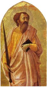 Image result for paintings st paul evangelist middle ages