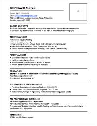 Formal Resume 18 Formal Resume Cv Cover Letter Uxhandy Com