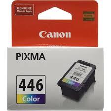 Оригинальный <b>картридж Canon CL</b>-<b>446</b> (трехцветный) Голубой ...
