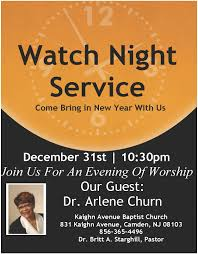watch night service dr arlene churn  ash wednesday lenten service 5th watch night flyer churn