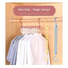 [12.12]<b>Holes Magic</b> Hanger Creative <b>Multifunction</b> Hanger Home ...