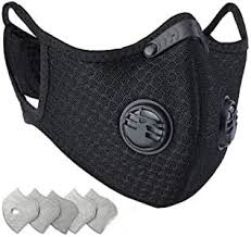 <b>Dustproof Sports Mask</b> - Activated Carbon <b>Anti Pollution Mask</b> with ...