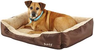 Deluxe Soft Washable <b>Dog Pet Warm Basket</b> Bed Cushion with ...