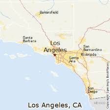 best places to live in los angeles california los angeles california map