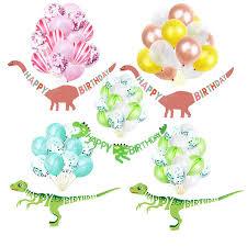 <b>Dinosaur</b> theme <b>Happy</b> Birthday <b>Banner Balloons</b> Party Decor ₱152