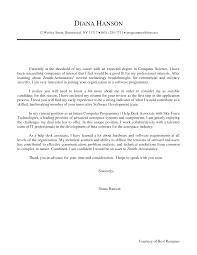 computer science cover letter resume badak sample cover letter computer science entry level cover letter