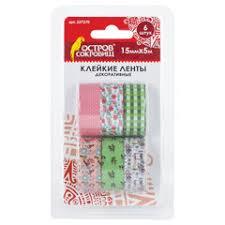 Декоративные <b>клейкие ленты</b> – купить по недорогой цене в ...