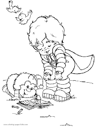 Small Picture 136 best Rainbow Brite Coloring Pages images on Pinterest
