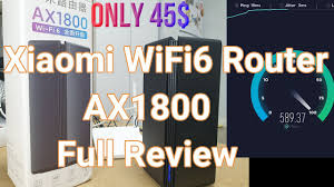 <b>Xiaomi AX1800</b> Wi-Fi 6 <b>Router</b> Setup and Review   Unboxing ...