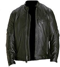 Classyak <b>Men's</b> Vintage <b>Cow Leather</b> Jacket Black: Amazon.de ...
