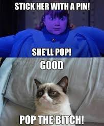 GrumpyCat #Meme | on the grumpy cat's 9 lives | Pinterest ... via Relatably.com