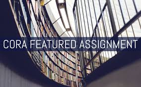 community of online research assignments an open access resource cora featured assignment