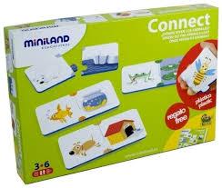 Купить <b>Настольная игра Miniland</b> Кто где живет? по низкой цене ...