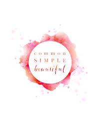 Common, Simple, <b>Beautiful</b> - <b>rose red</b> print — Jennifer Chung